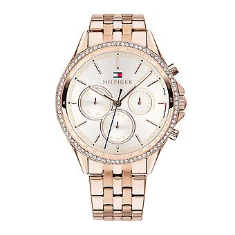 Tommy Hilfiger Watches 1781978 Ari Rose Gold Plated Stainless Steel Ladies Watch