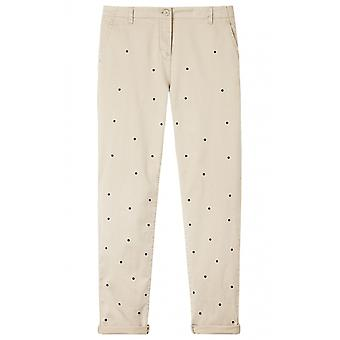 Sandwich Clothing Humus Spot Print Chinos