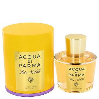 Acqua Di Parma Iris Nobile Eau De Parfum Spray przez Acqua Di Parma 3,4 uncji Eau De Parfum Spray