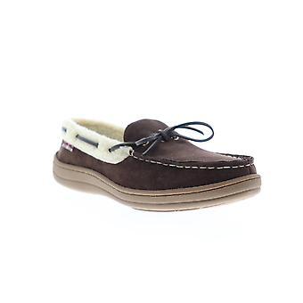 Ben Sherman Milton Mocassin  Mens Brown Suede Loafer Slippers Shoes