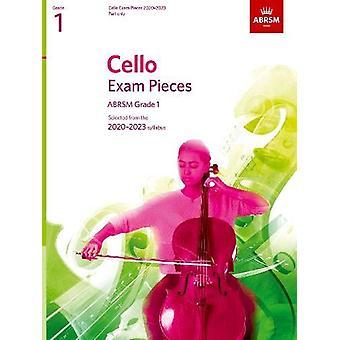 Pièces d'examen pour violoncelle 2020-2023 - ABRSM Grade 1 - Partie - Sélectionné à partir de la