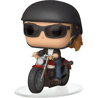 Carol Danvers na motocykli Ride #57 - Kapitán Marvel - Funko POP!