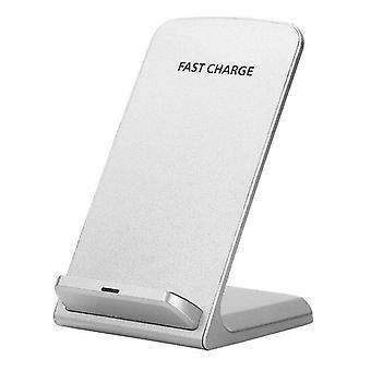 Wiko Y80 (bianco) Certificato Qi Desktop Wireless Charging Stand/Qi Receiver Card Micro USB