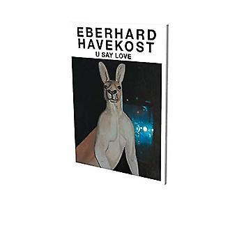 Eberhard Havekost - U Say Love by Bruno Brunnet - 9783864422867 Book