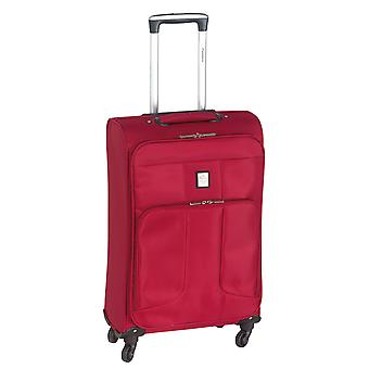 Controleren. IN Paradise Florence Trolley M, 4 rollen, 66 cm, 46 L, Rood