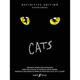Cats - definitive edition by Andrew Lloyd Webber - 9780571541485 Book