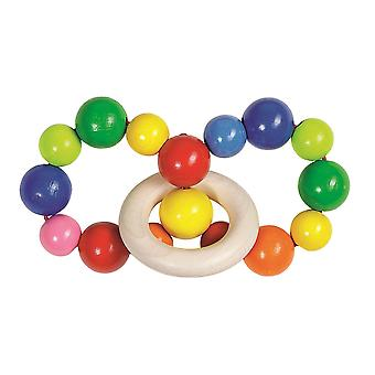 Heimess Touch Ring Rattle Elastic Rainbow