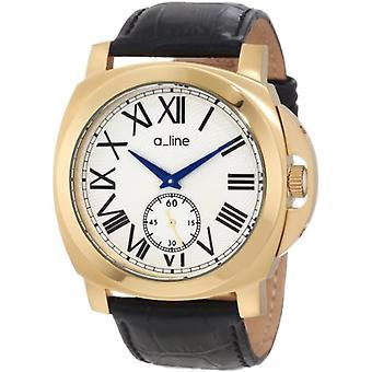 A-lijn man horloge Ref. 80007-YG-02-BK