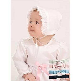 Unisex Baptismal Gown With Bonnet Grace Of Sweden