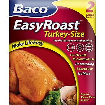Bacofoil Turkey Roasting Bags (Pack of 2)