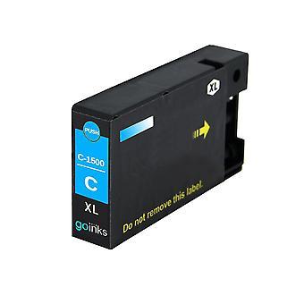 1 Cyan kompatible Canon PGI-1500XLC Drucker Tintenpatrone