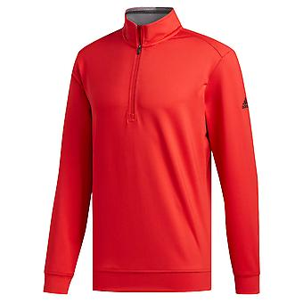 adidas Golf Mens 2021 Classic Club 1/4 Zip Long Sleeved Pullover Sweater