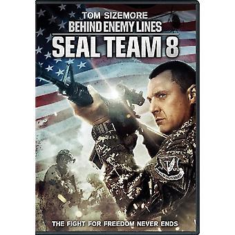 Seal Team 8: Takana vihollinen linjat [DVD] Yhdysvallat tuoda