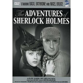 The Adventures of Sherlock Holmes [DVD] USA import