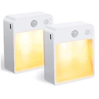 Motion-sensor LED Night Light 2pcs