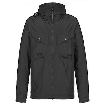 MA.STRUM Black Lightweight Hooded Jacket