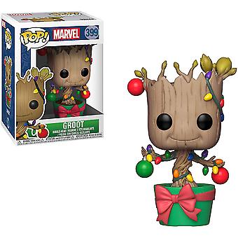 Guardians of the Galaxy Groot w/ Lights & Ornaments Pop!