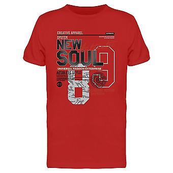 New Soul Design Tee Men's -Imagen de Shutterstock