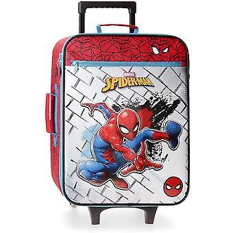 Spiderman Soft Valiza 50 cm Fololuminiscente