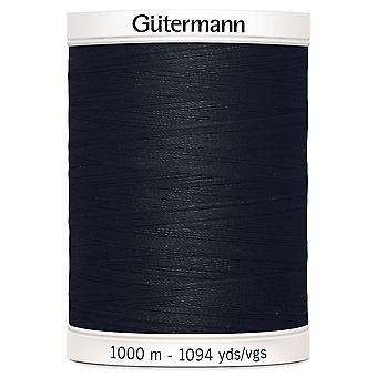 Gutermann Sew-all 100% Polyester Thread 1000m Hand and Machine - 000 Black