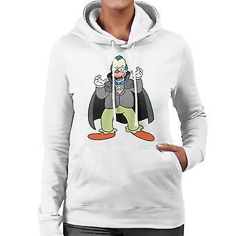 The Simpsons Vampire Krusty Halloween Women's Hooded Sweatshirt