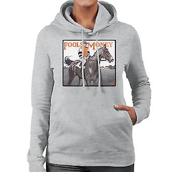 The Saturday Evening Post Fools Money 1906 Cover Women's Hooded Sweatshirt