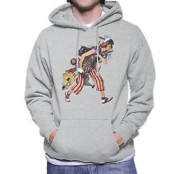 Lørdag aften Post Liberty Girl Norman Rockwell Men's Hætteklædte Sweatshirt