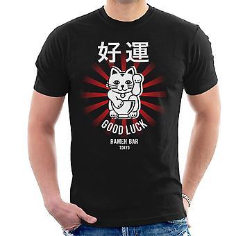 De Ramen kleding bedrijf goed geluk Noodle Bar Tokyo mannen T-Shirt