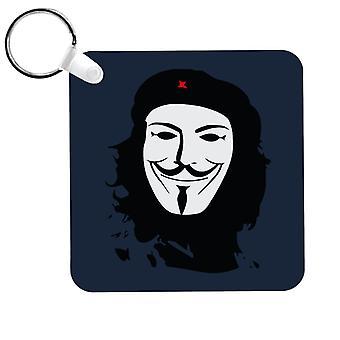 Anonymous Guevara V For Vendetta Keyring