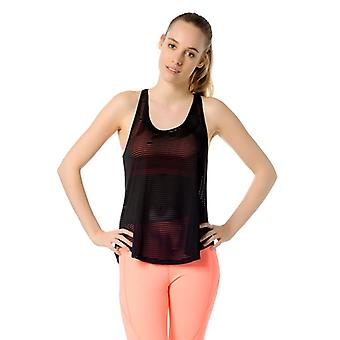 Jerf  Womens Jaco Black Active Top