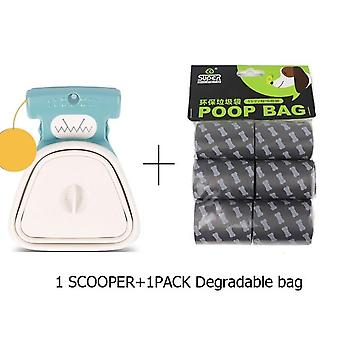 Foldable Dog Poop Dispenser Bag For Travel - Animal Waste Picker - Cleaning Pet Products