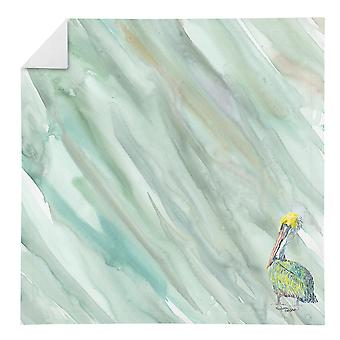 Carolines Treasures SC2064NAP Pelican sur sage serviette verte