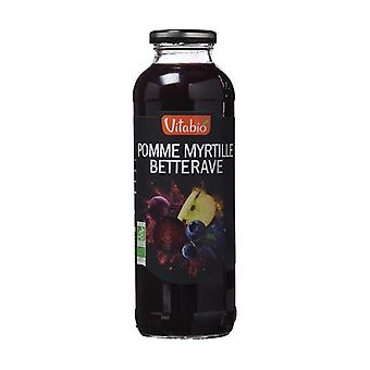 Fruit and Vegetable Cocktail French Apple Blueberry Beet 500 ml (Blueberries - Apple)