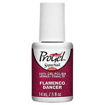 SuperNail ProGel Gel Nail Polish - Flamenco Dancer 14ml