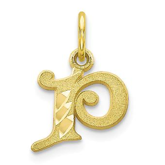 10k Letter Name Personalized Monogram Initial  Charm Pendant Necklace Jewelry Gifts for Women