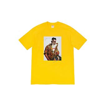 Supreme Pharoah Sanders Tee Keltainen - Vaatteet