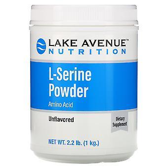 Lake Avenue Nutrition, L-Serine, Unflavored Powder, 2.2 lb (1 kg)