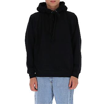 Dries Van Noten 211501606900 Men's Black Cotton Sweatshirt