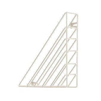 Creative Wall-mounted Iron Storage Racks Home Decoration White