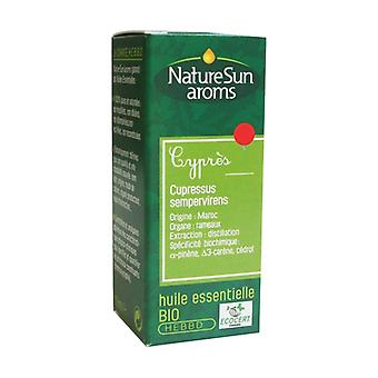 Organic cypress essential oil 10 ml of essential oil