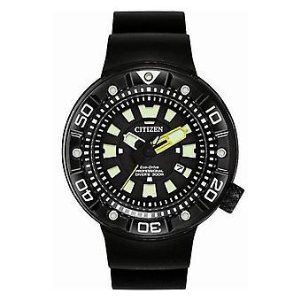 Citizen Watches Bn0175-01e Mens Eco-drive Promaster Black Rubber Strap Divers Watch