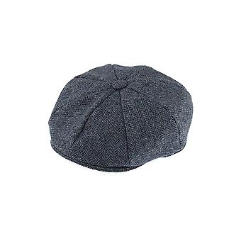Abraham Moon 8-Piece Tweed Cap