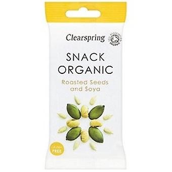 Clearspring - Roasted Seeds & Soya - Organic 35G X15