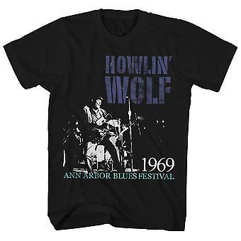Howlin' Wolf T Shirt 1969 Ann Arbor Blues Festival Live PhotoHowlin' Wolf Shirt
