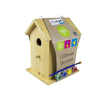 Fundoo Copiiăs Paint Your Bird House Unisex Ages 6 Years & Above Multi-color