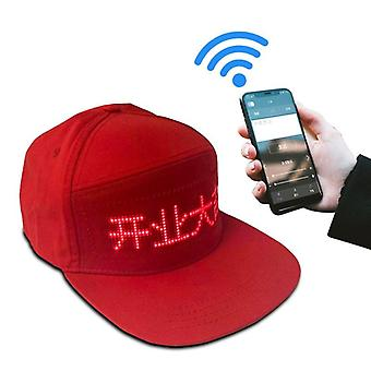 Cool Bluetooth Led Hat With 12*48 Pixels Led Display Higher Quality And Bigger
