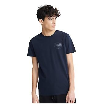 Superdry Vintage Logo Premium Goods Snal Injection T-paita - Eclipse Navy