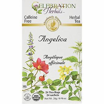 Celebration Herbals Organic Angelica Root Tea, 24 Bags