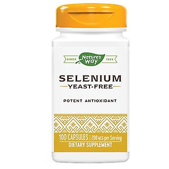 Nature's Way Selenium, 200 mcg, 100 Caps