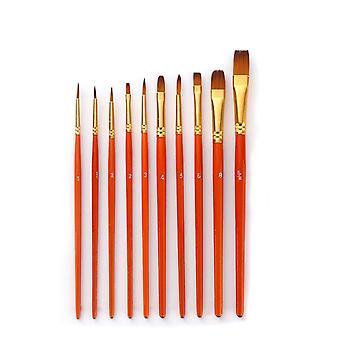 Nylon Hair Painting Brush -professional Art Supplies
